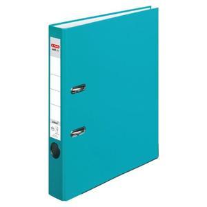 Registrator samostojeći A4, 5 cm, maX.file protect, Herlitz, tirkizni