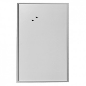 Ploča bijela magnetna zidna 60 x 80 cm, Herlitz