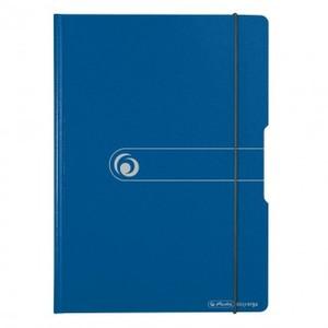 Ploča podložna PVC, sa štipaljkom, preklopom i gumicom, Herlitz Easy orga to go, A4 , plava 1 4