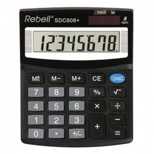 Kalkulator Komercijalni Rebell SDC408 black
