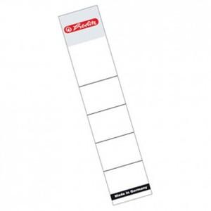 Etikete za registratore 80 mm, 10/1, bijele, Herlitz