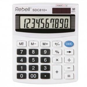 Kalkulator Komercijalni Rebell SDC410 white