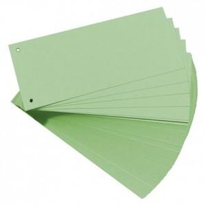 Pregrada kartonska 105 x 242 mm, 100/1, zelena, Herlitz