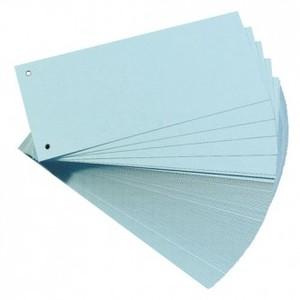 Pregrada kartonska 105 x 242 mm, 100/1, plava, Herlitz