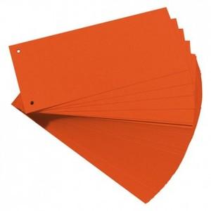 Pregrada kartonska 105 x 242 mm, 100/1, narančasta, Herlitz