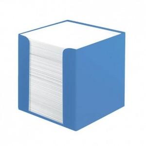 Stolna kocka s papirom Color Blocking,, PVC 9x 9 x 9 cm, mornarsko plava, 700 listova, Herlitz