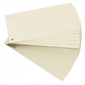 Pregrada kartonska 105 x 242 mm, 100/1, natron, Herlitz