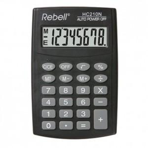 Kalkulator Komercijalni Rebell HC208 black