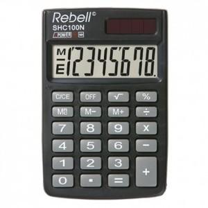 Kalkulator Komercijalni Rebell SHC108 BLACK