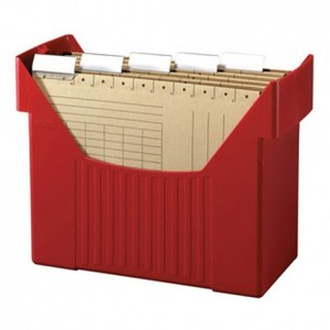 Kutija za viseće mape, Herlitz, crvena