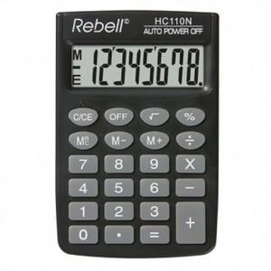 Kalkulator Komercijalni Rebell HC108 black