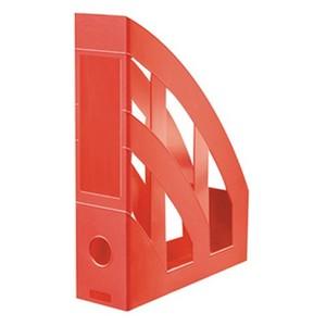 Herlitz stalak za spise, pvc, crveni