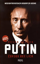 Čovjek bez lica - Putin, Masha Gessen