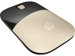 HP miš Z3700, bežični, zlatni, X7Q43AA