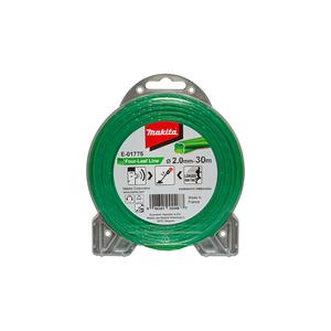 MAKITA najlonska nit, zelena 2.0 mm / 30 m E-01775
