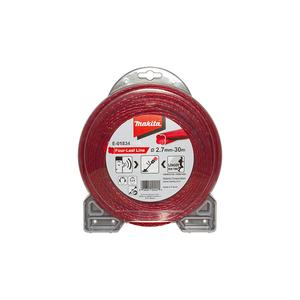 MAKITA najlonska nit, crvena 2.7 mm / 30 m E-01834
