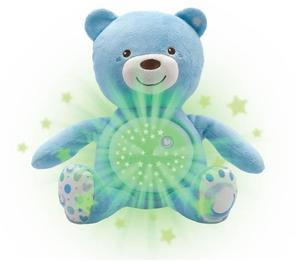 Chicco moj prvi medvjedić sa svjetiljkom i zvukom, plavi