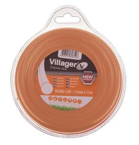 VILLAGER najlonska nit 2.0mm x 15m - okrugla 034043
