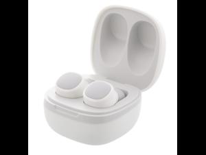 Streetz slušalice TWS-0002, Bluetooth stereo Earbuds s kutijicom za punjenje, bijele, 5 godina jamstva
