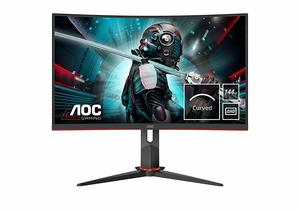 AOC monitor CQ27G2U, VA, QHD, DP, 2xHDMI, 144Hz, 4xUSB3.0