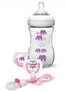 PHILIPS AVENT set slonić za djevojčice