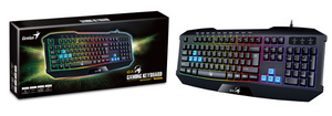 Genius tipkovnica Gaming Scorpion K215, USB, LED osvjetljenje