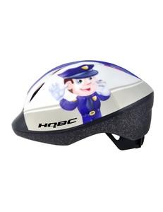 HQBC kaciga FUNQ policajac - bijela 48-54cm