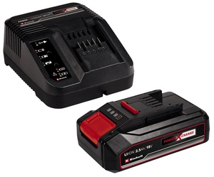 EINHELL 18V 2.5 Ah PXC Starter Kit, punjač i baterija