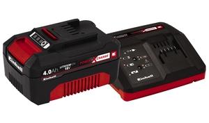 EINHELL 18V 4.0 Ah PXC Starter Kit, punjač i baterija