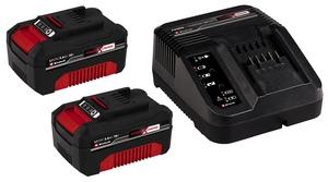 EINHELL 18V 2 x 3.0 Ah PXC Starter Kit (2 x 3.0 Ah baterije + punjač)