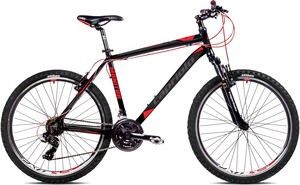 "CAPRIOLO bicikl MTB MONITOR FSM 26""/21AL silver/crvena"