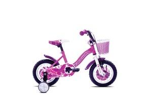 """CAPRIOLO dječji bicikl Viola 12"""" roza"""