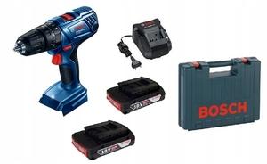 BOSCH Professional akumulatorska udarna bušilica GSB 180-LI (2x2,0Ah, kovčeg) - 18 V