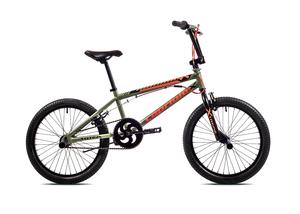 "CAPRIOLO bicikl BMX 20"" HT TOTEM zeleno/narančasti"
