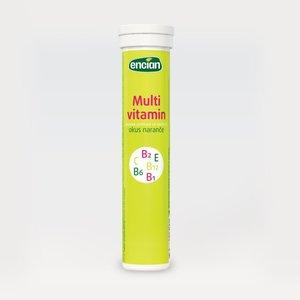 Encian ŠUMEĆE TABLETE MEGAFIT MULTIVITAMIN 20 tab