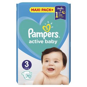 Pampers pelene jumbo maxi pack midi (70 kom)