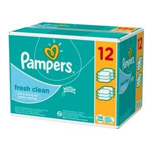 Pampers vl.maramice fresh clean 12x52
