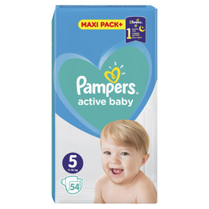 Pampers pelene jumbo maxi pack junior (54 kom)