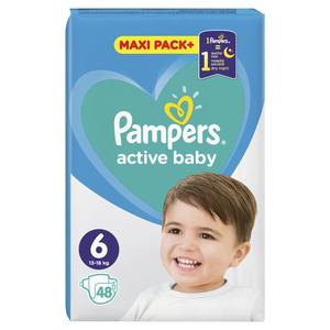 Pampers pelene jumbo maxi pack extra large (48 kom)