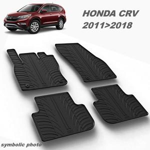 Gumeni auto tepisi za Honda CRV - komplet prednji i zadnji