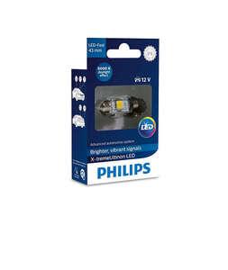 Philips auto žarulja led 10,5X43mm 6000K/12V X-Treme Vision