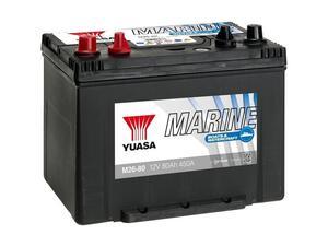 Akumulator Yuasa Marin 80 Ah - Duple kleme