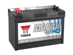 Akumulator Yuasa Marin 12V/100Ah - Duple klema