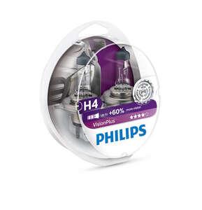 Philips auto žarulja H4 60/55W/12V VisionPlus