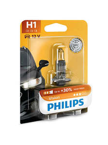 Philips  auto žarulja H1  55W/12V Premium Vision+30 %