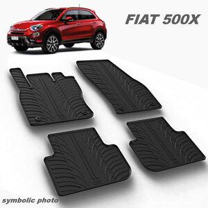 Gumeni auto tepisi za Fiat 500 X i Jeep Renegade - komplet prednji i zadnji