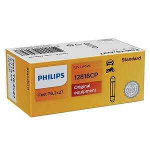 Philips auto žarulja SV6 3W/12V  pakiranje 10 komada