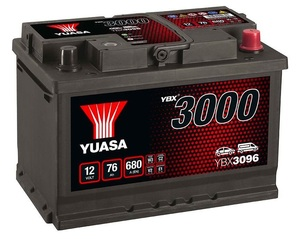 Akumulator Yuasa (3000 Premium) 12V/76Ah D+