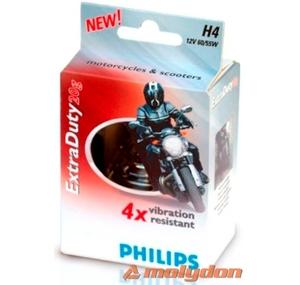 Philips moto žarulja H4 60/55W/12V extra duty