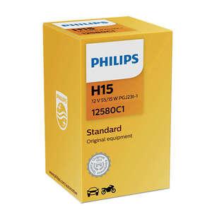 Philips auto žarulja H15 12V H15 55/15W PGJ23t